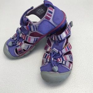 Keen Liberty Raya Seacamp Purple Sandal - Girls 2